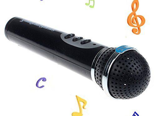 Tongshi Niñas Niños Micrófono Mic Karaoke Kid Cantando Regalo divertido de la música del juguete
