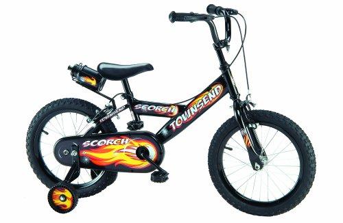 Townsend Scorch Boy's – Bicicleta para niño, tamaño 16″, color negro