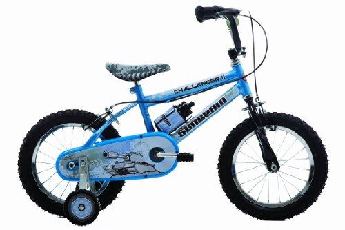Sunbeam challenger bicicleta -,14 inch azul para niño