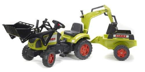 Falk – Tractor con remolque para niños