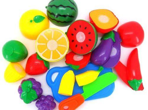 Sannysis ® Cortar Frutas Verduras Juego – juguetes educativos para niño